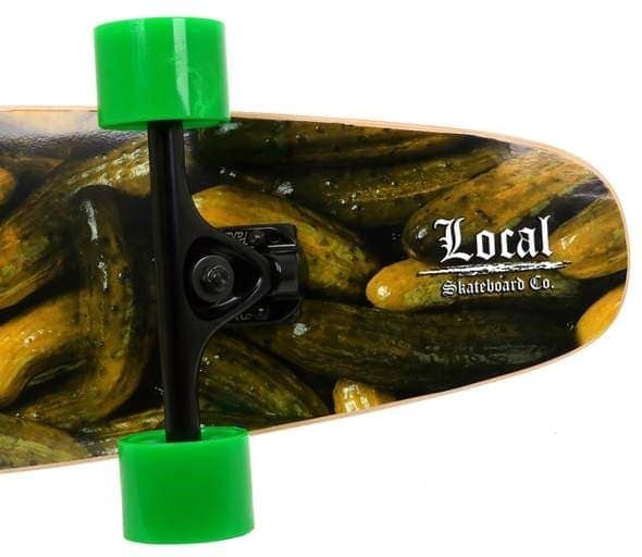 Tail of Mt. Olive Skateboard by Local Skateboard Co.